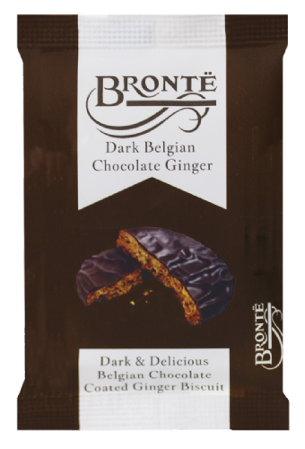Bronte Indulgent & Delicious Biscuits - double portions - with Chocolate Ginger - 5 packs of biscuit